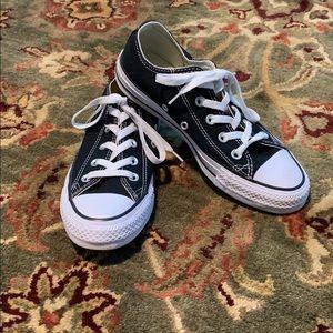 Black and White Converse